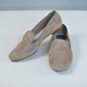 Delman | Tan Suede Loafers | Flats | Size 10